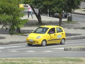 Táxi em Medellín