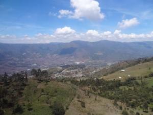 Vista de Parte da Cidade de Medellín