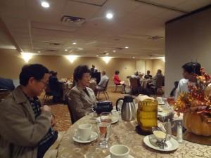 Almoço de Abertura do CAINE 2012