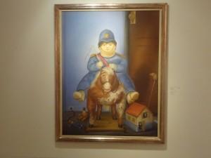 Pintura Sobre a Morte do Filho de Fernando Botero